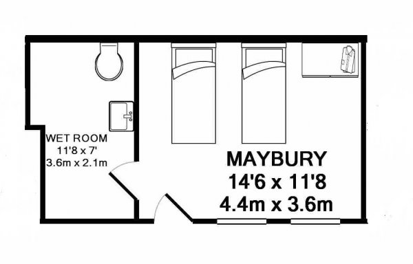 Maybury's floorplan.