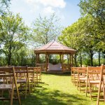 Outdoor Ceremonies in the Orchard Pavillion