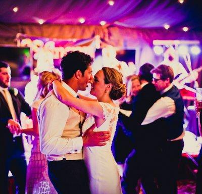 Amy & joe enjoying the dance floor.