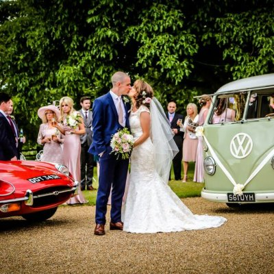 Natalie & Neil's wedding venue northamptonshire