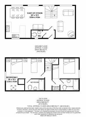 East of Eydon floorplan.