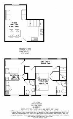 Tyrell floorplan.