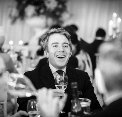 Edward Darbyshire laughing!