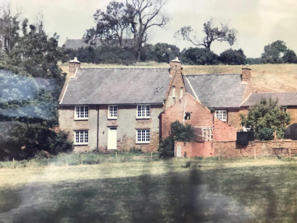 this is how our farmhouse and barns used to look before renovations